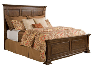 Monteri Queen Panel Bed - Complete