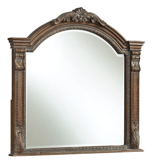 Charmond Bedroom Mirror - Brown