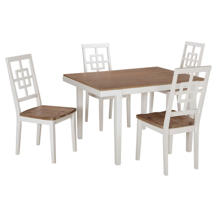 Brovada Dining Room Table and Chairs (Set of 5)