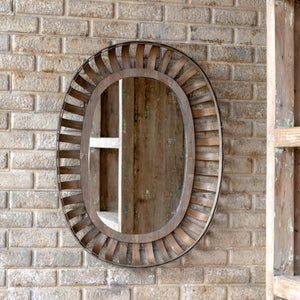 Bushel Basket Mirror