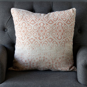 Vintage Printed Linen Pillow
