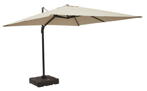 Large Cantilever Umbrella with Base