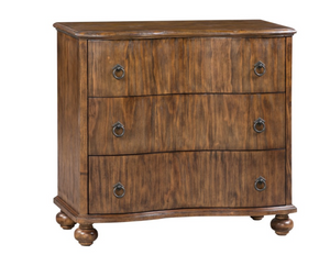 3 Drawer Curved Front Chest