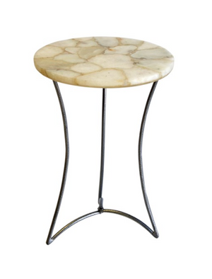 Cream Agate Table
