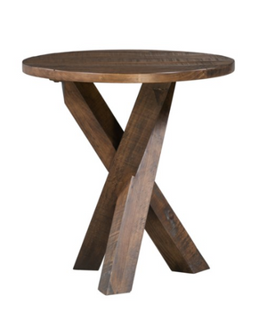 Tri-Leg Round End Table