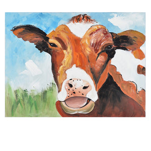 Molly The Cow Painting