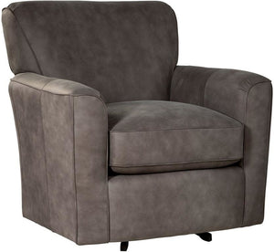 Lyndell Swivel Leather Chair
