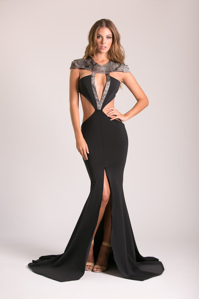 Noir - Stello - Gowns - Designer - Dress - Wedding dress - Stephanie Costello - Michael Costello -