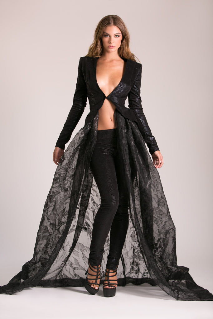 Jaguar Pants - Stello - Gowns - Designer - Dress - Wedding dress - Stephanie Costello - Michael Costello -