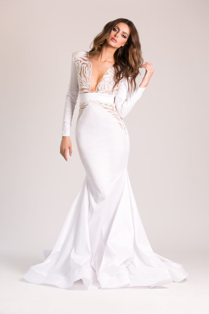 Molly - Stello - Gowns - Designer - Dress - Wedding dress - Stephanie Costello - Michael Costello -
