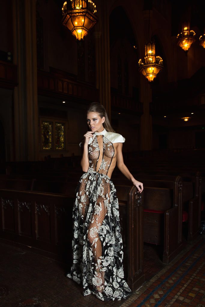 Santa Cruz - Stello - Gowns - Designer - Dress - Wedding dress - Stephanie Costello - Michael Costello -