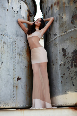 Band - Stello - Gowns - Designer - Dress - Wedding dress - Stephanie Costello - Michael Costello -