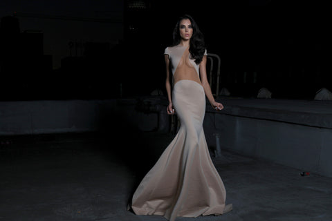 Nude Illusion - Stello - Gowns - Designer - Dress - Wedding dress - Stephanie Costello - Michael Costello -
