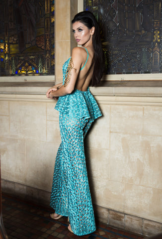 Highland - Stello - Gowns - Designer - Dress - Wedding dress - Stephanie Costello - Michael Costello -
