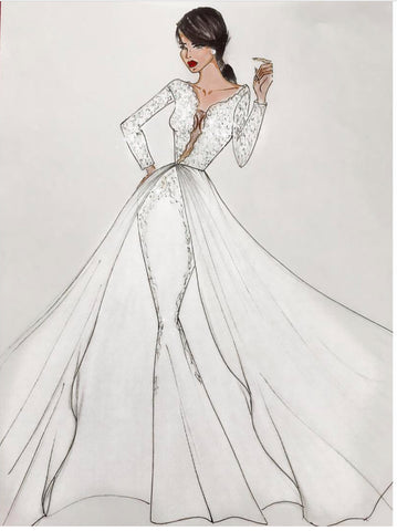 Custom (you name it) - Stello - Gowns - Designer - Dress - Wedding dress - Stephanie Costello - Michael Costello -