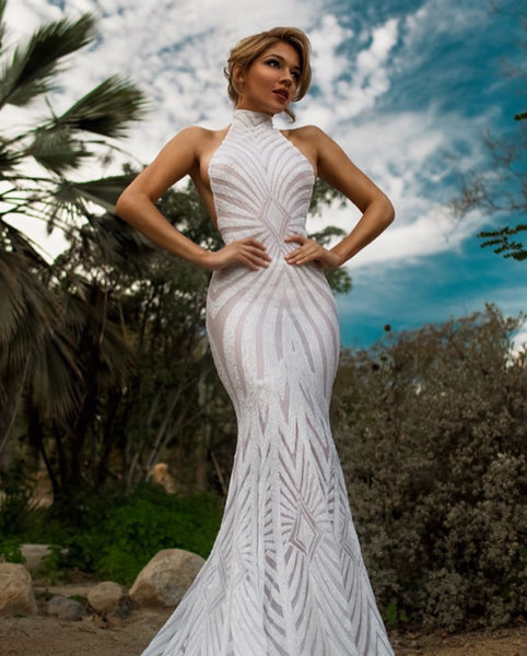 Raquel warrior edition - Stello - Gowns - Designer - Dress - Wedding dress - Stephanie Costello - Michael Costello -