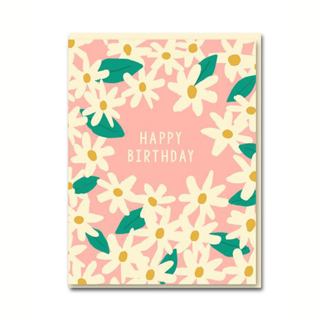Daisies Happy Birthday Card