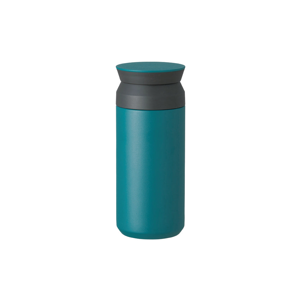 kinto japanese design travel insulated mug hot tea coffee cold drinks thermal turquoise
