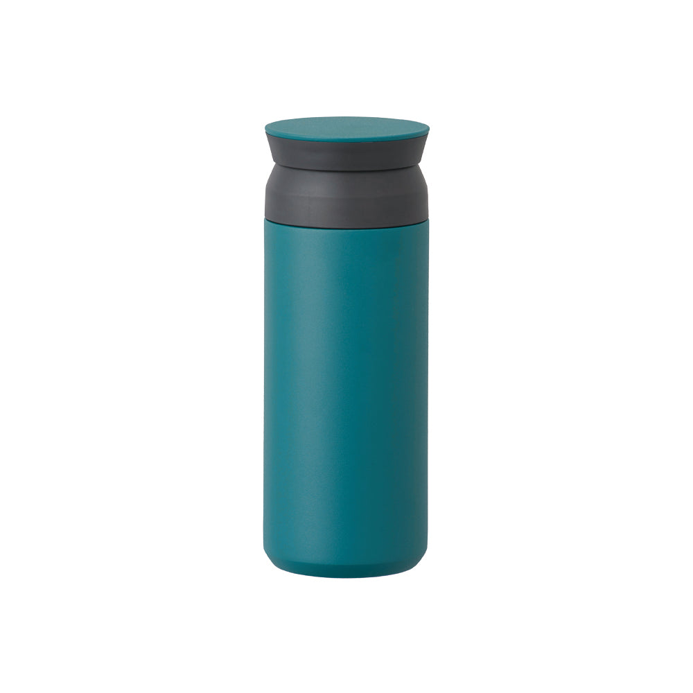 kinto japanese design travel insulated mug hot tea coffee cold drinks thermal jade turquoise