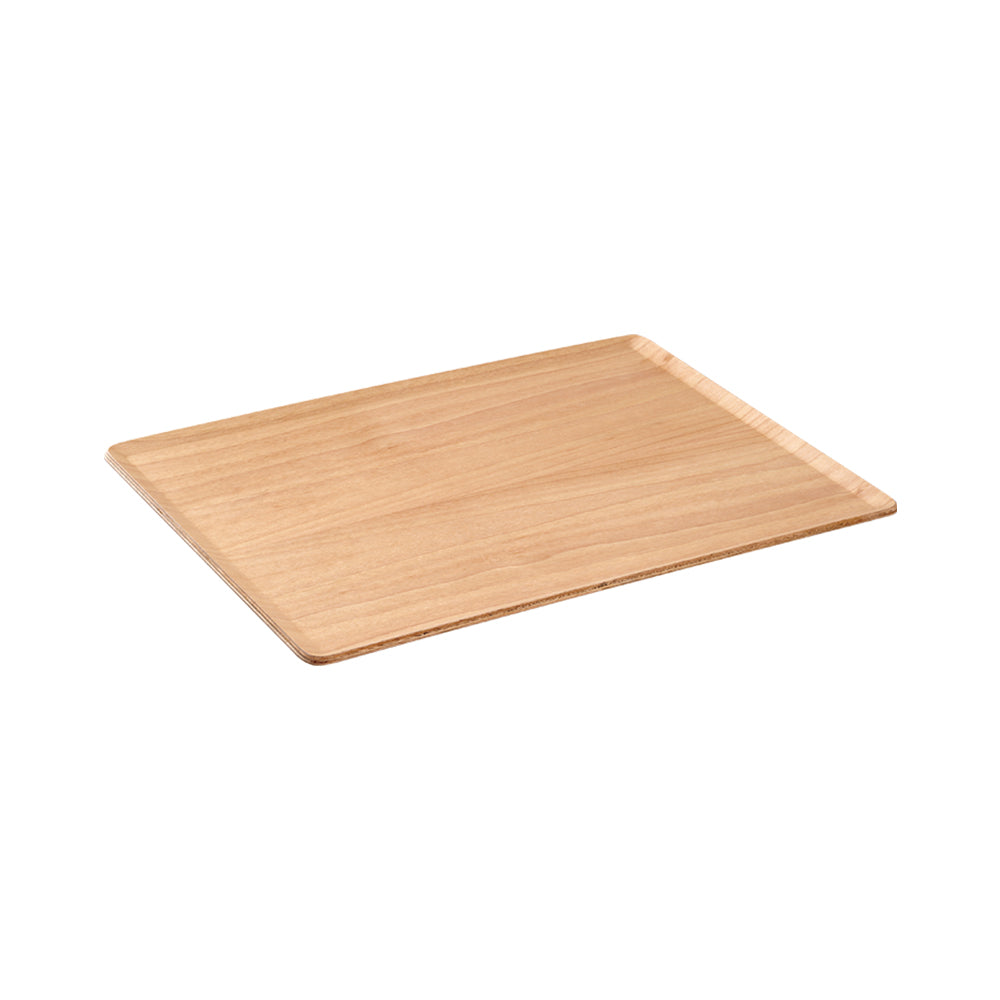 360x280 birch ply plywood Japanese minimalist design tray natural materials