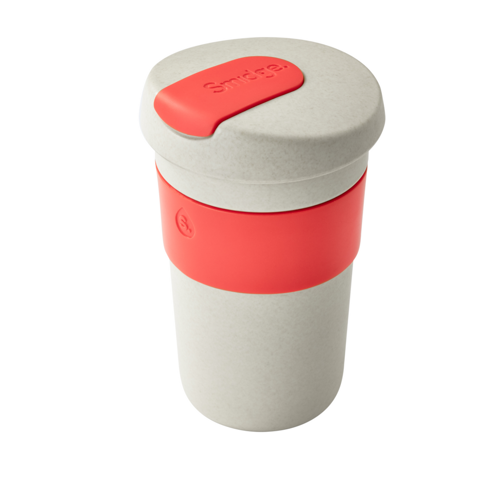 smidge plastic free coffee cup 100% natural reusable tea hot drinks