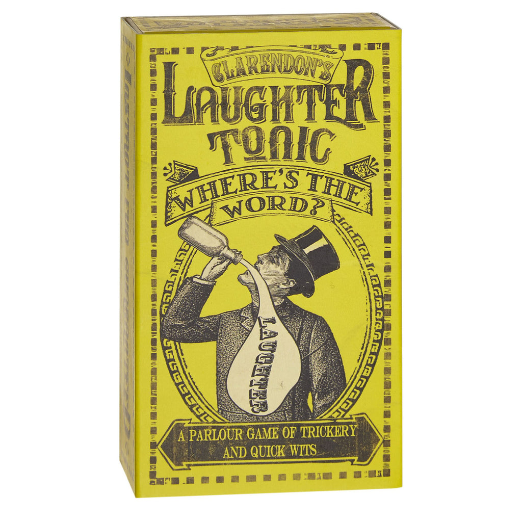 Clarendon's Laughter Tonic family game