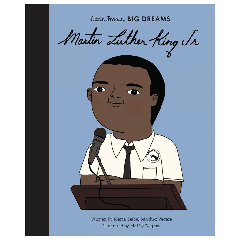 Little people big dreams Martin Luther King BLM book