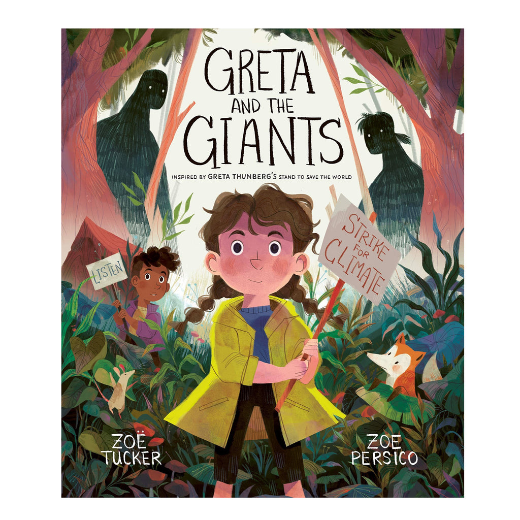 Greta and the Giants greenpeace book for children inspired by Greta Thunberg