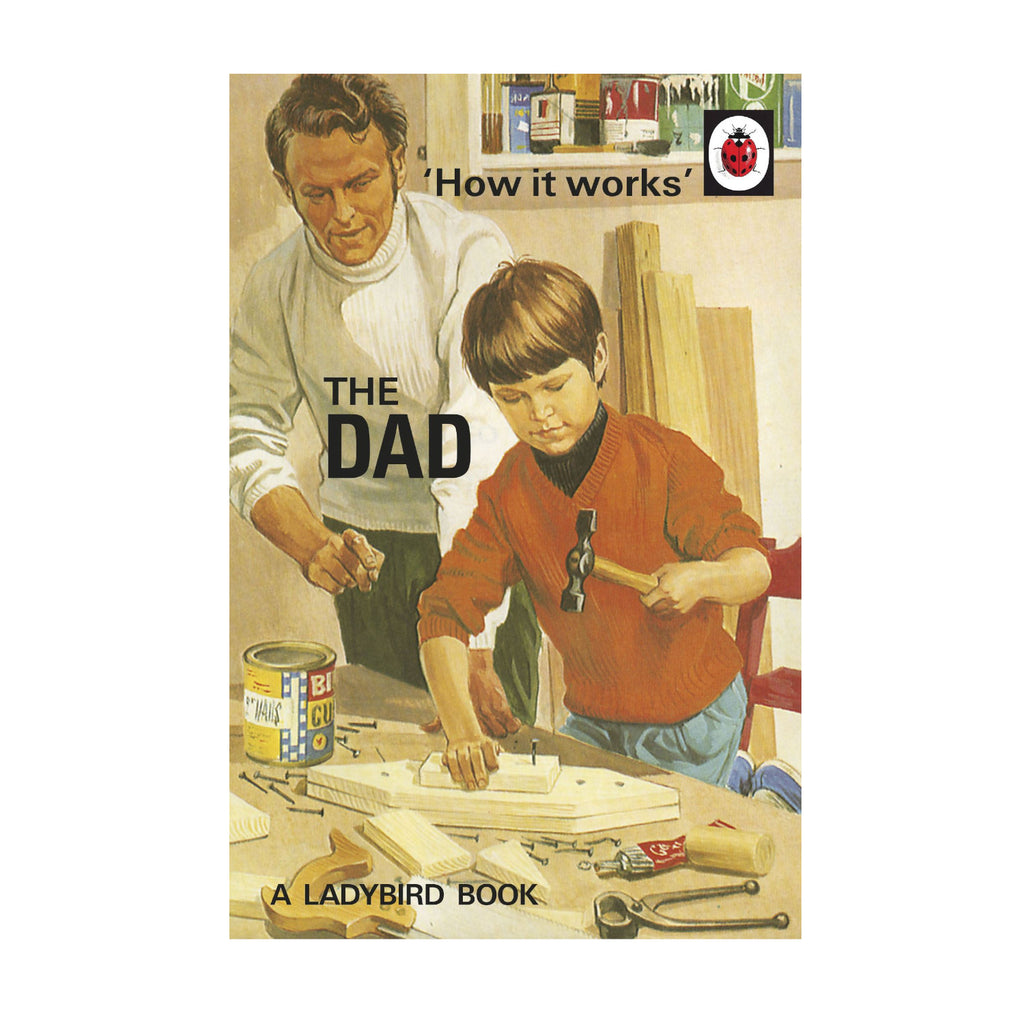 How it Works: The Dad: Joel Morris & Jason Hazeley ladybird book adults humorous funny book
