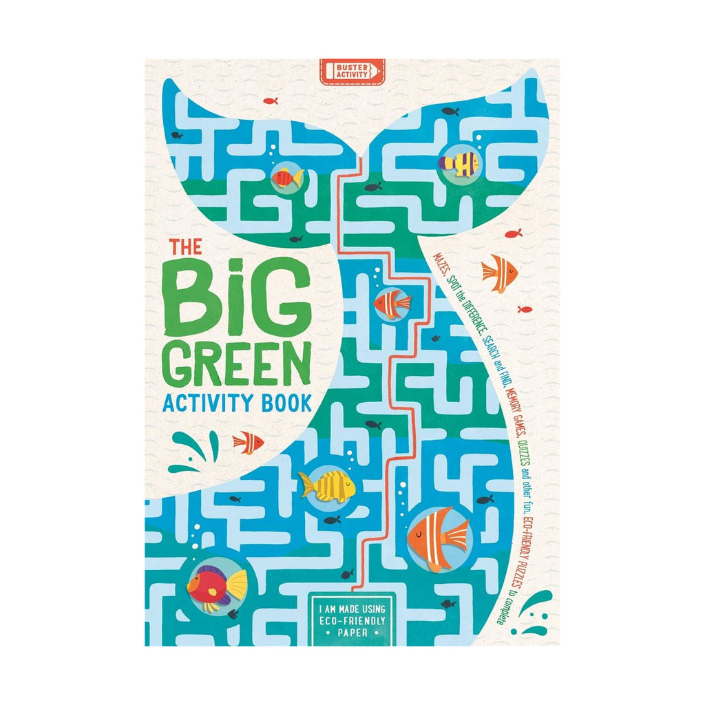 childrens big green activity book eco learning
