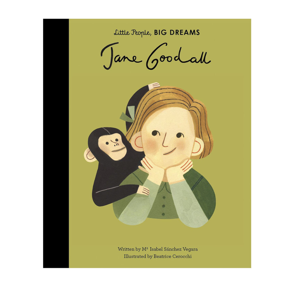 Little People Big Dreams: Jane Goodall - I.S. Vegara & B. Cerocchi inspirational books for children kids