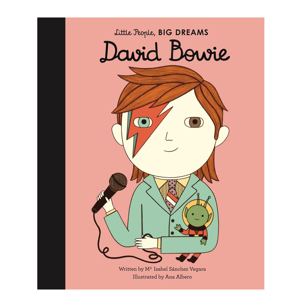 Little People Big Dreams: David Bowie - Isabel Sanchez Vegara children's book