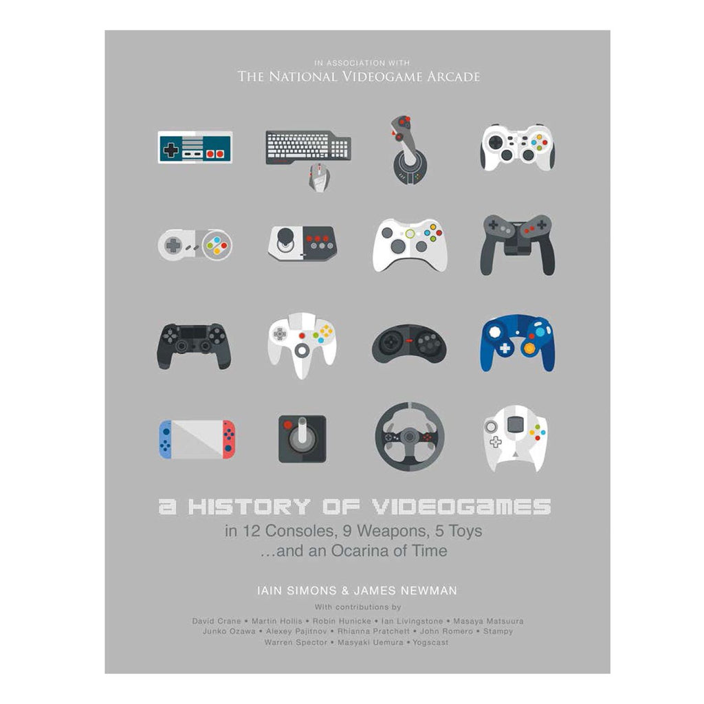 A History of Videogames: James Newman retro gaming book