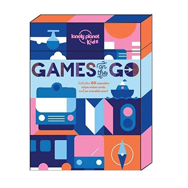 Lonely Planet Games on the Go roadtrip game for kids children