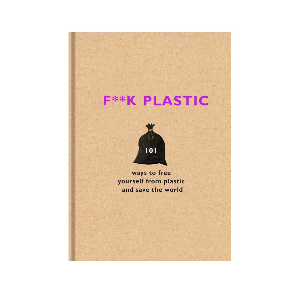 F**k Plastic -Various eco sustainability green book