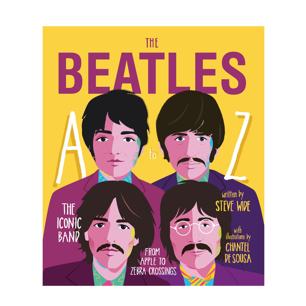 Beatles A-Z : Steve Wide music lover book gift