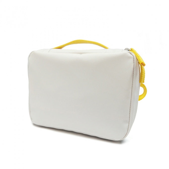 ekobo white yellow rePET recycled plastic bottle lunch bag charity