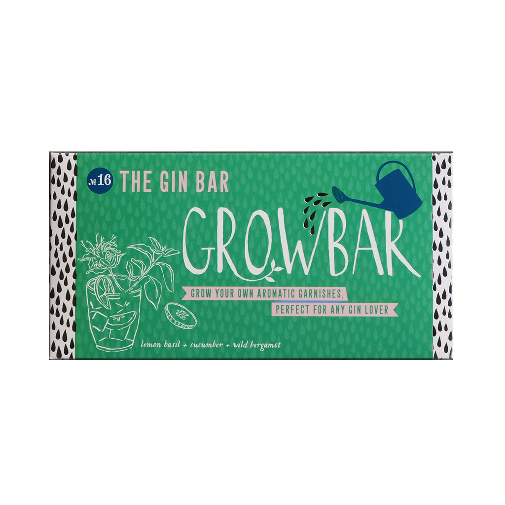 Grow bar gin grow your own plants gift