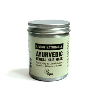 Ayurvedic herbal hair mask natural sustainable eco beauty plastic free