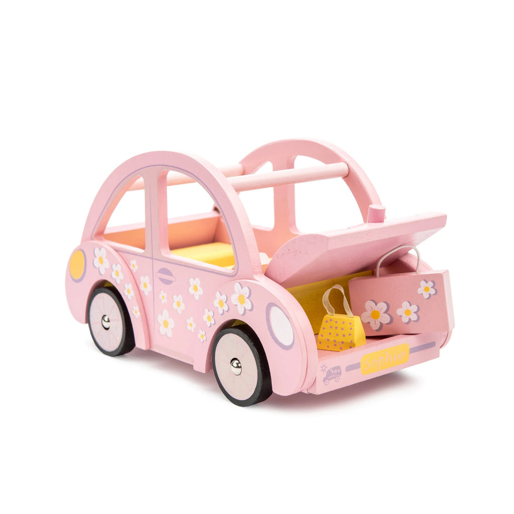 Le Toy Van Pink Wooden Car - Sophie's Car