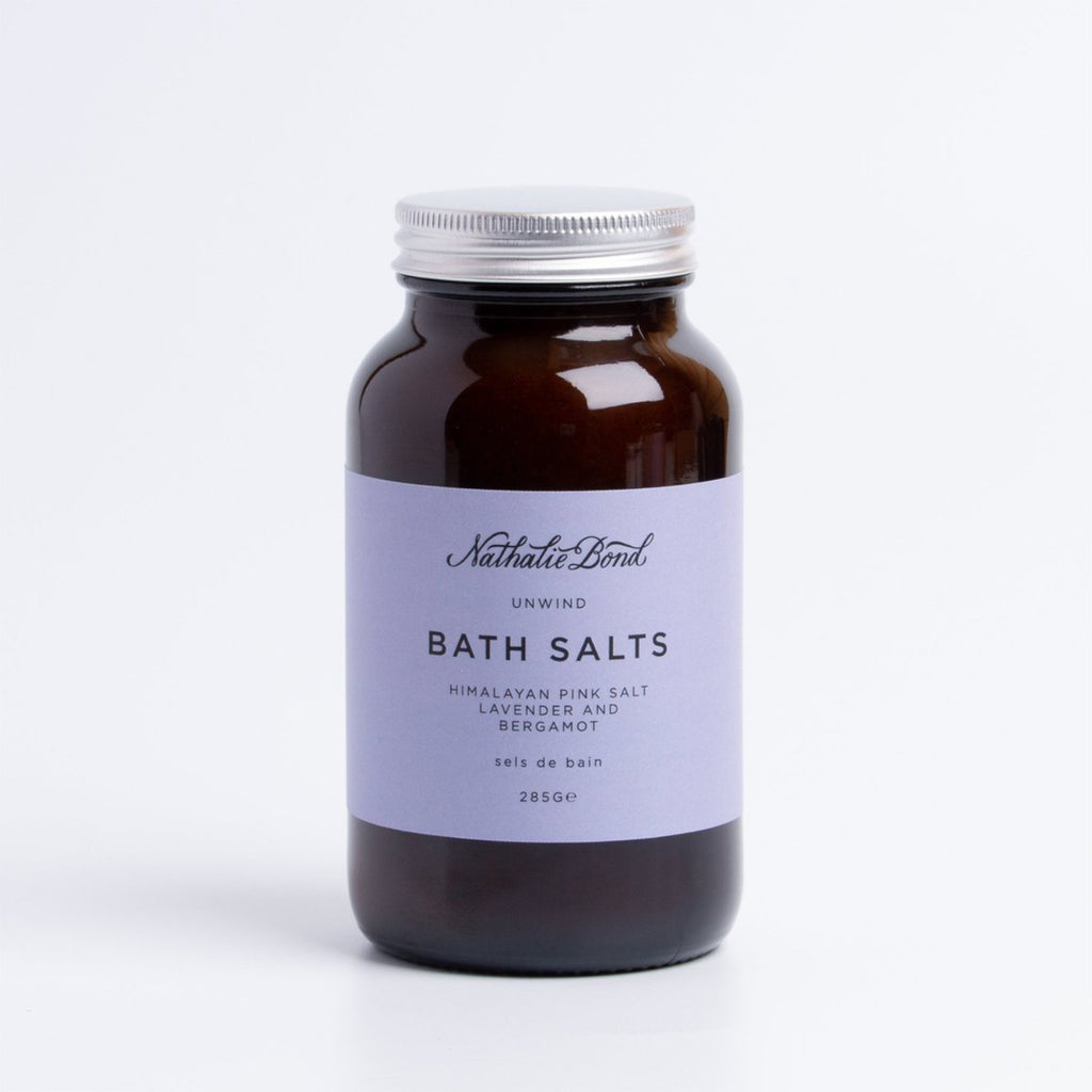 Nathalie Bond Unwind Bath Salts 250ml