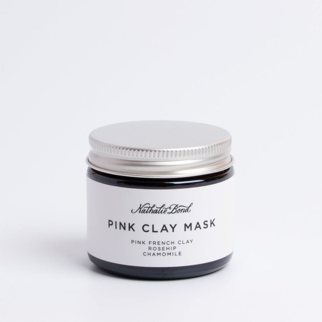 Nathalie Bond Pink Clay Mask