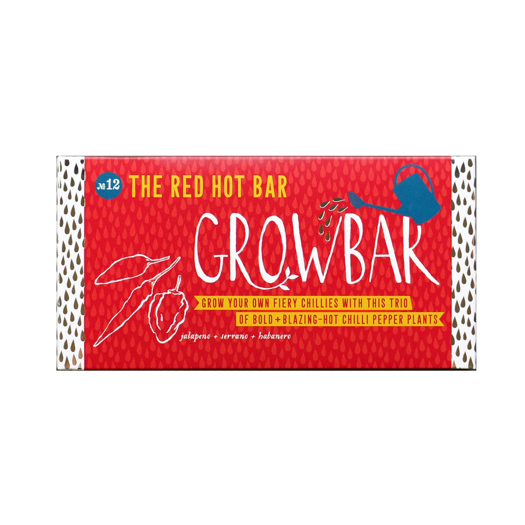 Grow bar red hot chilli grow your own plants gift