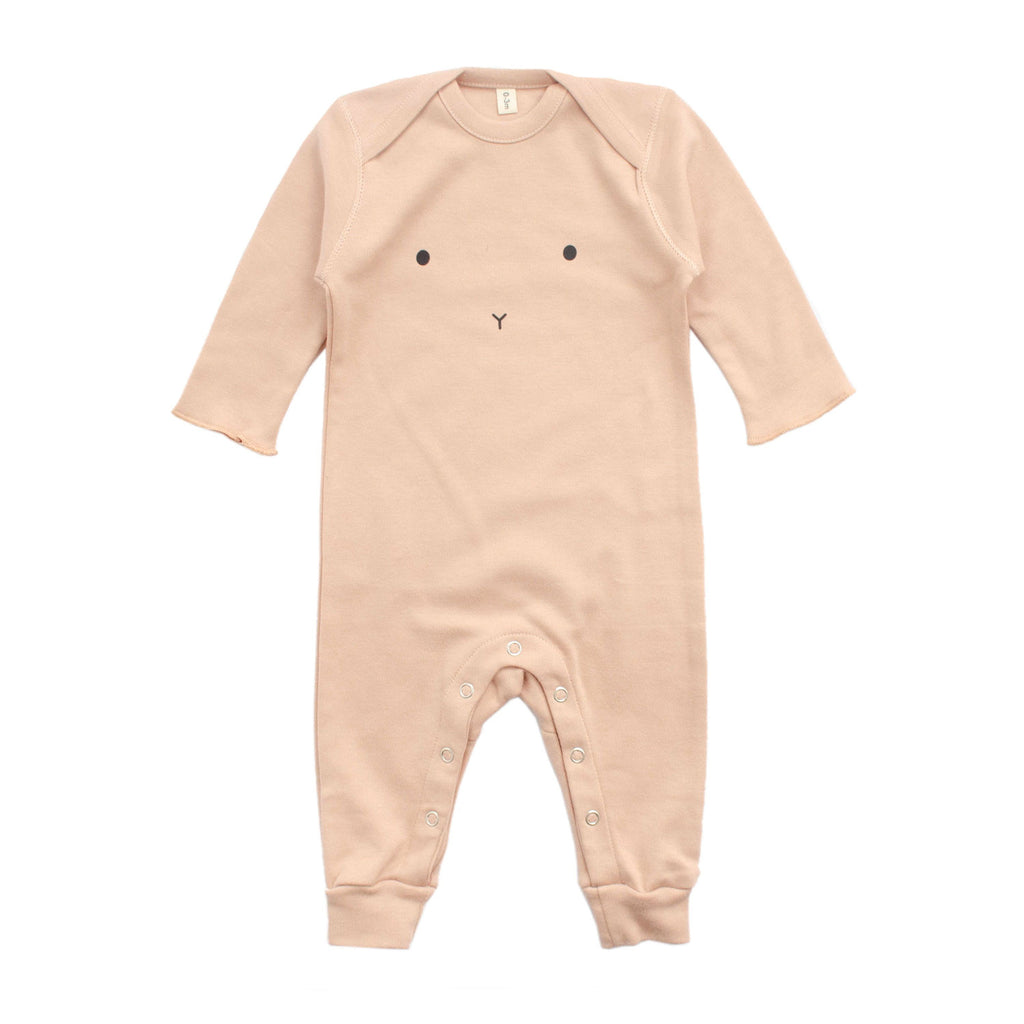 Organic Zoo Playsuit - Clay Bunny