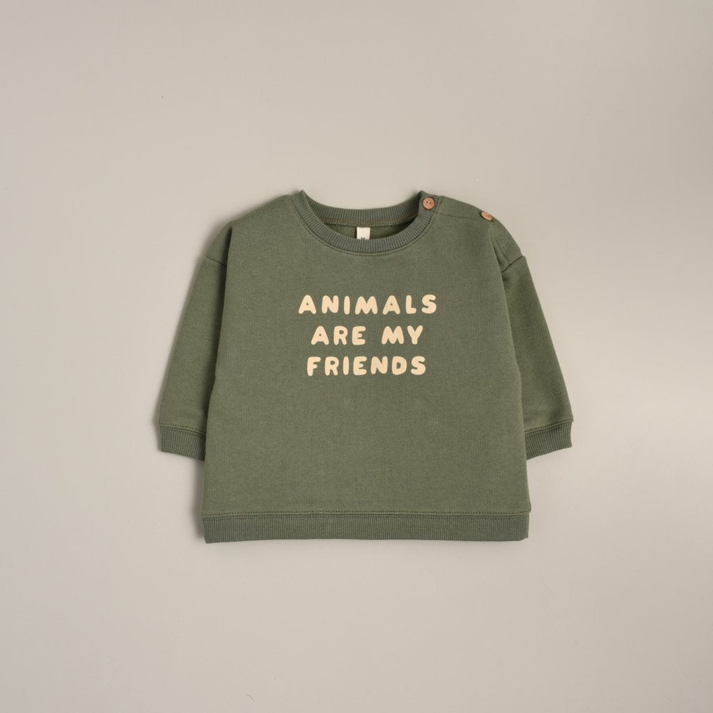 Organic Zoo - Animals are my Friends Sweatshirts