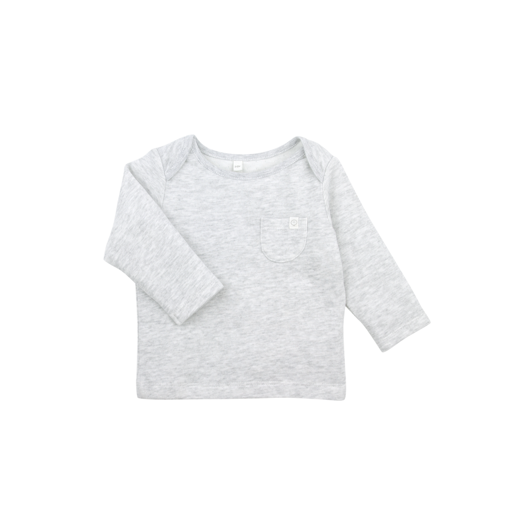 Mori Bamboo and Organic Cotton long sleeve t-shirt sustainable baby children's clothes clothing