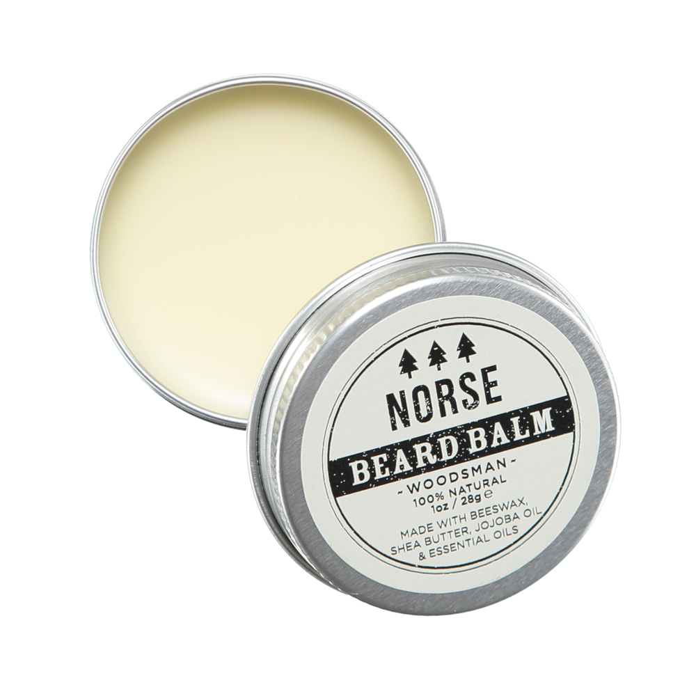 norse natural beard balm hipster gents gift