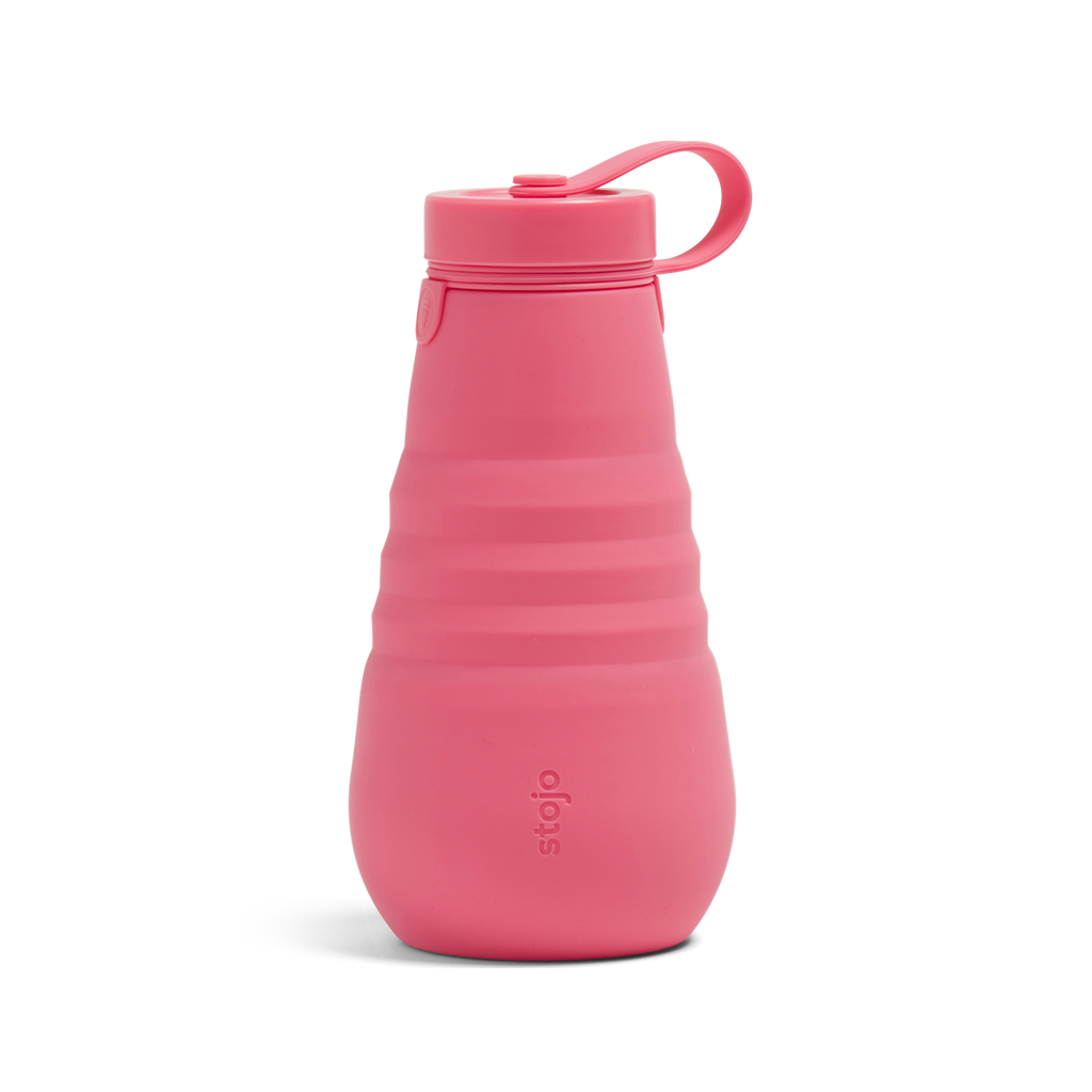 stojo collapsible bottle Peony reusable