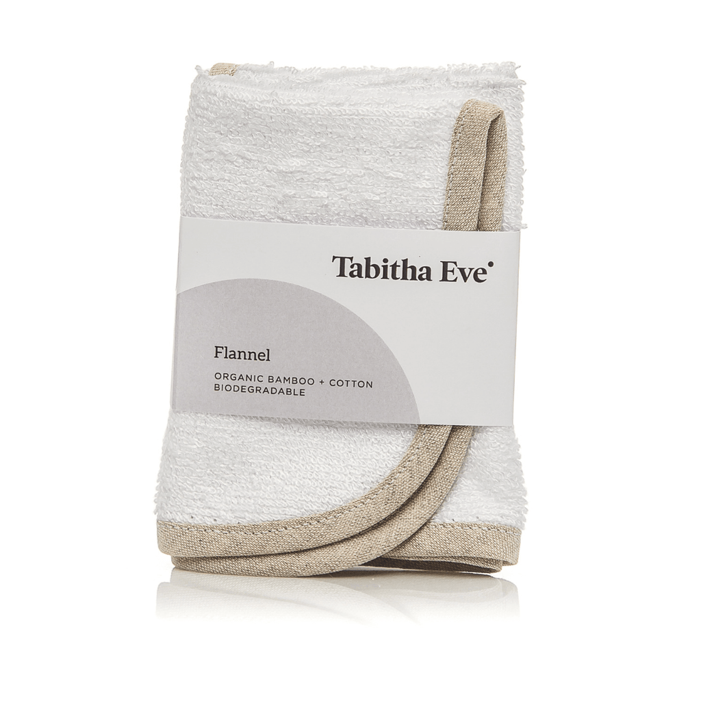 Tabitha eve organic bamboo flannel super soft reusable sustainable face cleansing