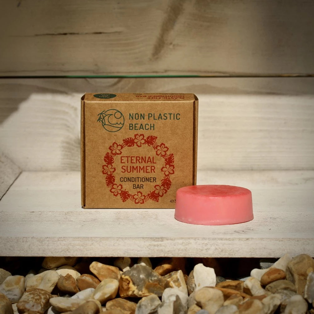 plastic free solid conditioner bar eco sustainable toiletries
